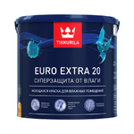 Моющаяся краска для влажных помещений Euro Extra 20 - Евро Экстра 20