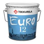 Латексная краска для сухих и влажных помещений - Евро 12