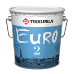 EURO 2  Глубоко матовая латексная краска для потолка