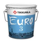 Евро 3 - глубокоматовая интерьерная краска