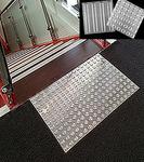 Антискользящая накладка квадрат, нержавеющая сталь RU_B6011/6006 300x300x2мм