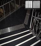 Антискользящая накладка квадрат, нержавеющая сталь RU_B6013/6014 300х300х6мм
