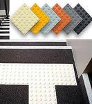 Антискользящая накладка квадрат, полиуретановая RU_B7001 300*300*7мм