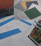 Антискользящая накладка квадрат,резиновая RU_B7002 300*300*7мм