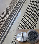 Антискользящая накладка точечная из нержавеющей стали RU_D1302 35*25*4.5мм