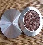 Антискользящая накладка точечная из нержавеющей стали с карборундом RU_D1314