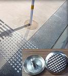 Антискользящая накладка точечная из нержавеющей стали RU_D1345K 35*25*4.5мм