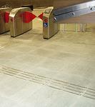 Антискользящая накладка, планка из нержавеющей стали RU_DT5006A 290х35х5мм