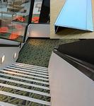 Антискользящая накладка на ступени, планка угловая алюминий RU_T1006+luminous светящаяся