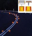 Светоотражающие накладки на дорогу для светящейся разметки RU_YD1001 пластик.