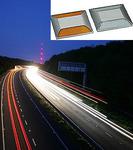 Светоотражающие накладки на дорогу для светящейся разметки RU_YD1002