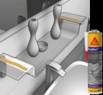 Sikaflex Crystal Clear Однокомпонентный прозрачный герметик и эластичный клей.